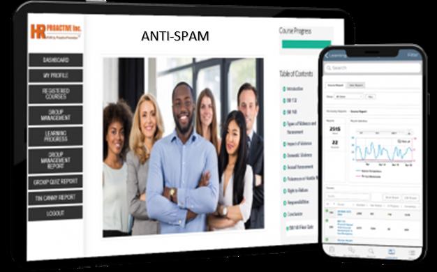 Anti-Spam LMS